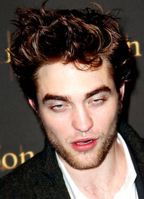 Robert Pattinson with funny eyes