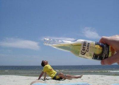 Gigantic bottle