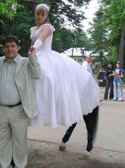 Horse-legged bride