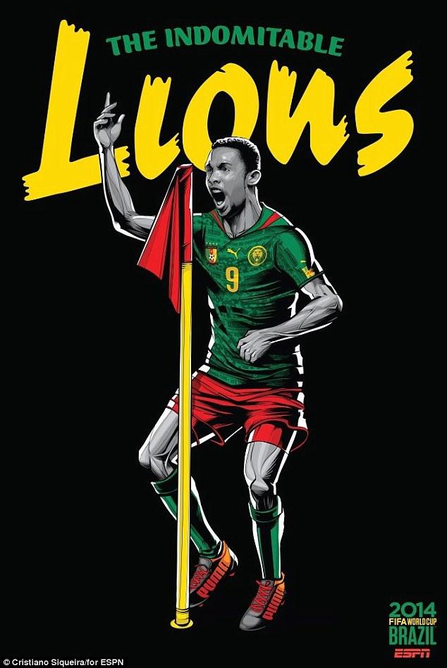 World Cup 2014 - Comic Photo: Samuel Eto'o - Cameroon