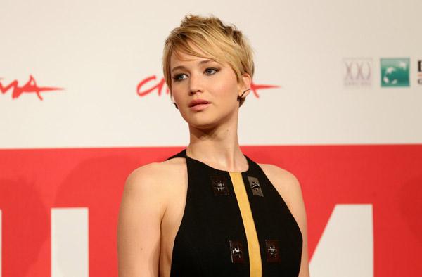 Sexy Jennifer Lawrence at Rome 3
