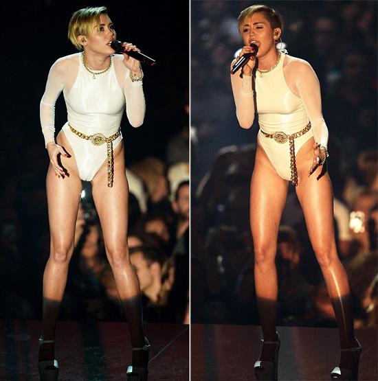 Sexy Miley at MTV Awards 3