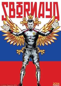Sport Wallpaper - World Cup 2014 - Comic Photo: Russia -  Igor Akinfeev