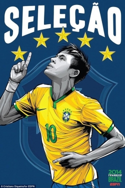 Sport Wallpaper - World Cup 2014 - Comic Photo: Brazil - Neymar