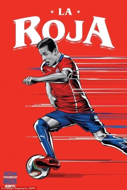 Sport Wallpaper - World Cup 2014 - Comic Photo: Chile - Alexis Sanchez