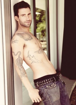 Celebrity photos - Sexy Adam Levine