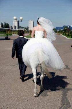 Funny photos - Funny bride