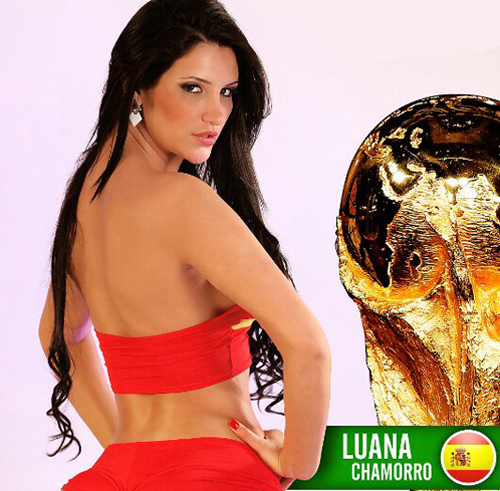 World Cup 2014: Espana Girl - Luana Chamorro