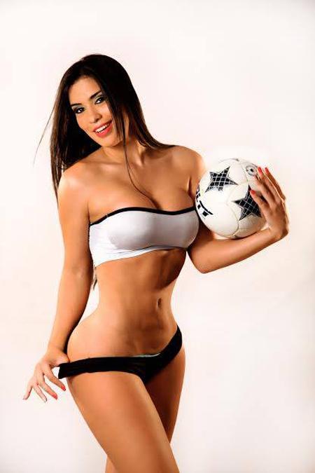 World Cup 2014: Uruguay Girl - Ana Laura Chamorro