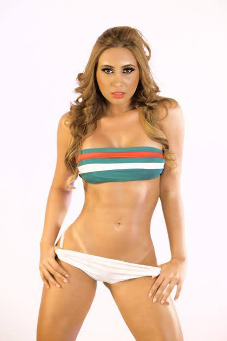 World Cup 2014: Mexico Girl - Acela Gomez