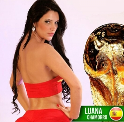 Sexy Wallpapers & Pictures - World Cup 2014: Espana Girl - Luana Chamorro