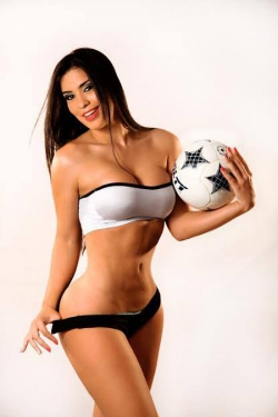 Sexy Wallpapers & Pictures - World Cup 2014: Uruguay Girl - Ana Laura Chamorro
