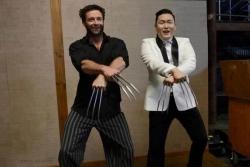 Celebrity photos - Wolverine Gangnam Style
