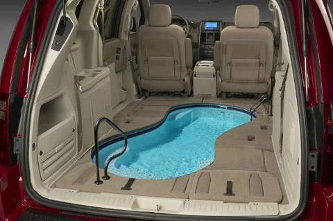 My car 2012 with swimming pool