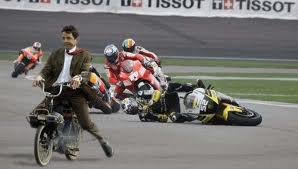Mr bean in the race