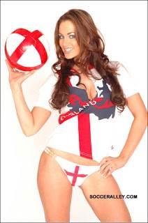 Sexy England fan