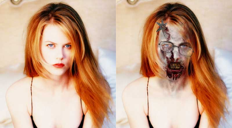 Nicole Kidman in Walking Dead