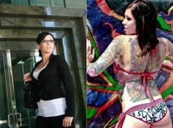 Tattoo pictures - Tattooed and employed..