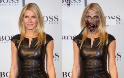 Halloween pictures - Gwyneth Paltrow in Halloween day