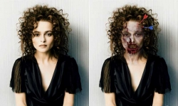 Halloween pictures - Helena Bonham Carter in new movie