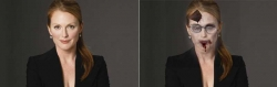 Halloween pictures - Julianne Moore returned back for World War Z?