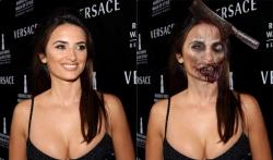 Halloween pictures - Penélope Cruz - sexy zombie