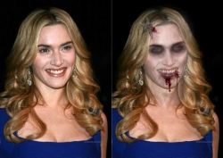 Halloween pictures - Kate Winslet - Zombie