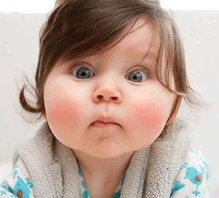 Funny baby