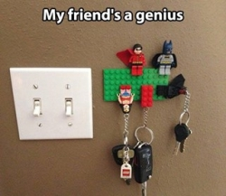 Funny photos - My friend's a genius