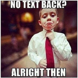 Funny photos - No text back?