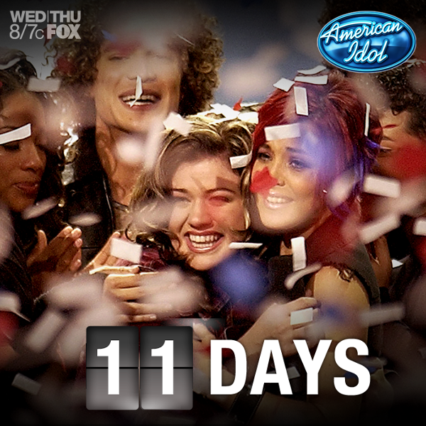 Let the countdown to the finale begin! 11 days...