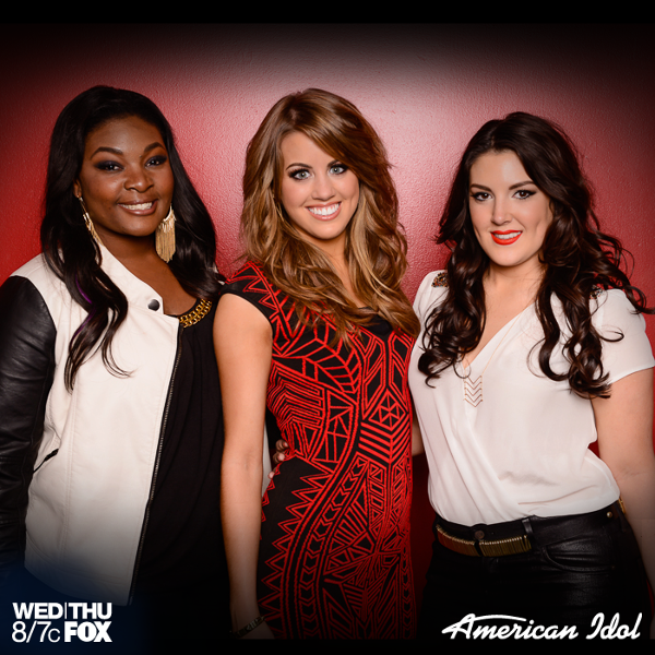 Here they are! Your American Idol Top 3!
