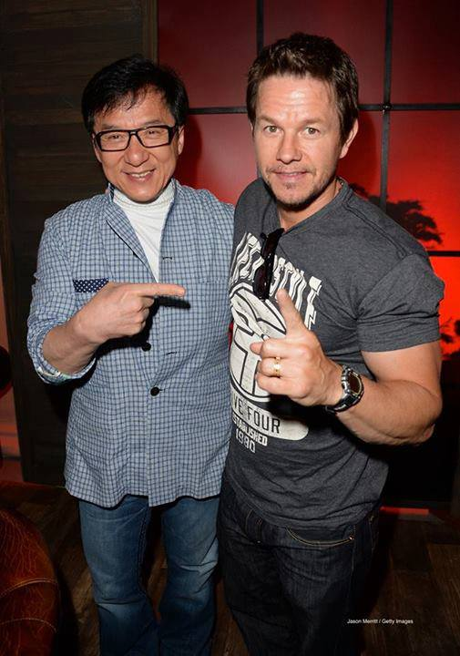 Jackie Chan with Mark Wahlberg