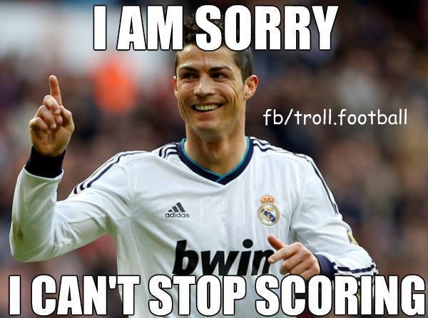 ronaldocredit: football is my life | football trolls & memes-osk-