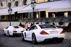 Car photos - veyron or sl65 amg black series ??  achraf