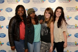 American Idol photos - the american idol top 4 had the wonderful opportunity to visit with