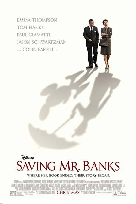 Saving Mr Banks : first official poster ♥ ♥ ♥ ♥