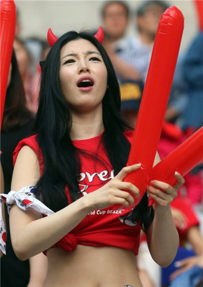 World Cup 2014 - Korea fans - So emotional