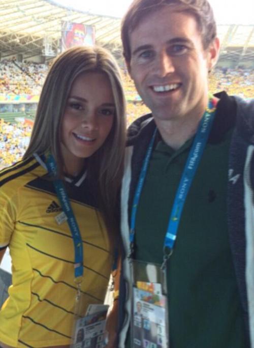 World Cup 2014 - Columbia fans - Alejandra Buitrago