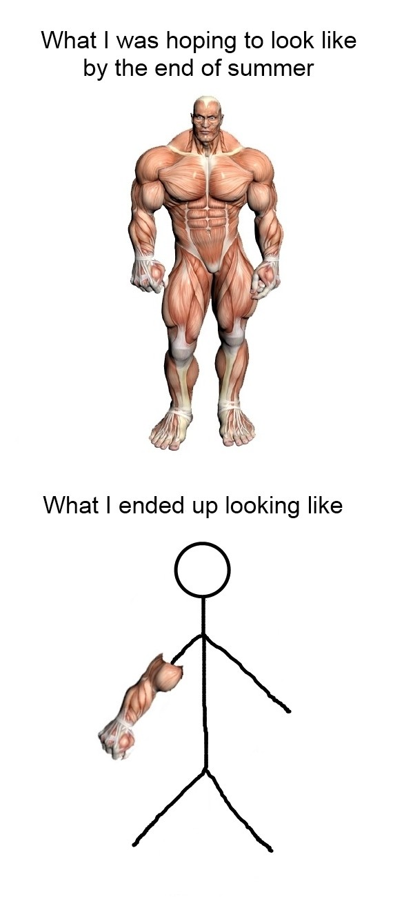 Summer workout expectations