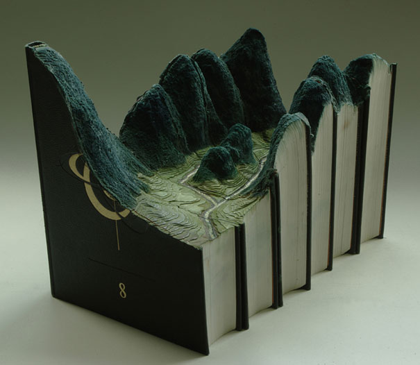 Book carvings guy Laramee