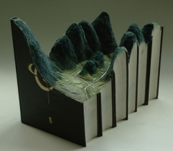 Miscellaneous pictures - Book carvings guy Laramee