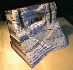 Miscellaneous pictures - Book carvings guy Laramee 9