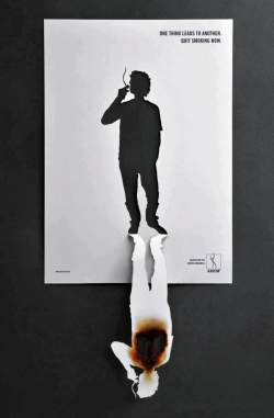 Funny photos - One thing leads to Another - Quit smoking now