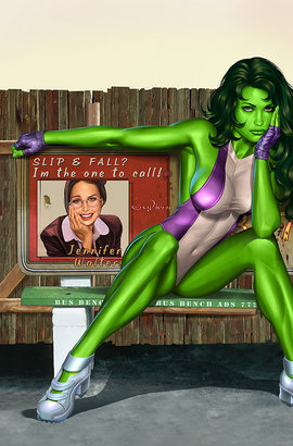 shehulk is green lol
