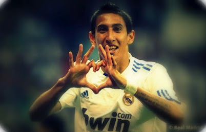 Happy Birthday to Angel Di Maria! Valentine's day!