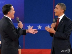 "Celebrity photos - ""The voice american 2012"": Obama vs Romney"