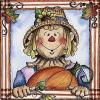 Thanksgiving Wallpaper - Autumn Scarecrow