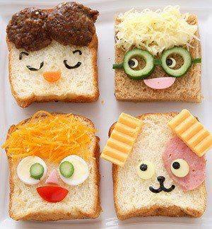 Face bread