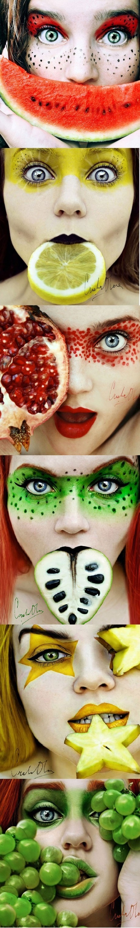 Face & fruits